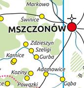 Corona Regni Poloniae. Map at a scale of 1:250 000