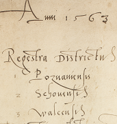 Historical Atlas of Poland. Tax Registers from the Voivodeship of Poznań in the 16th Century
