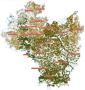 The map of Polish lands of the Crown in the 16th century – a spatial database