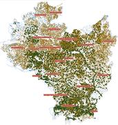 Ziemie polskie Korony w XVI w. Przestrzenna baza danych